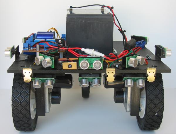 Docking Station Contacts on Robot